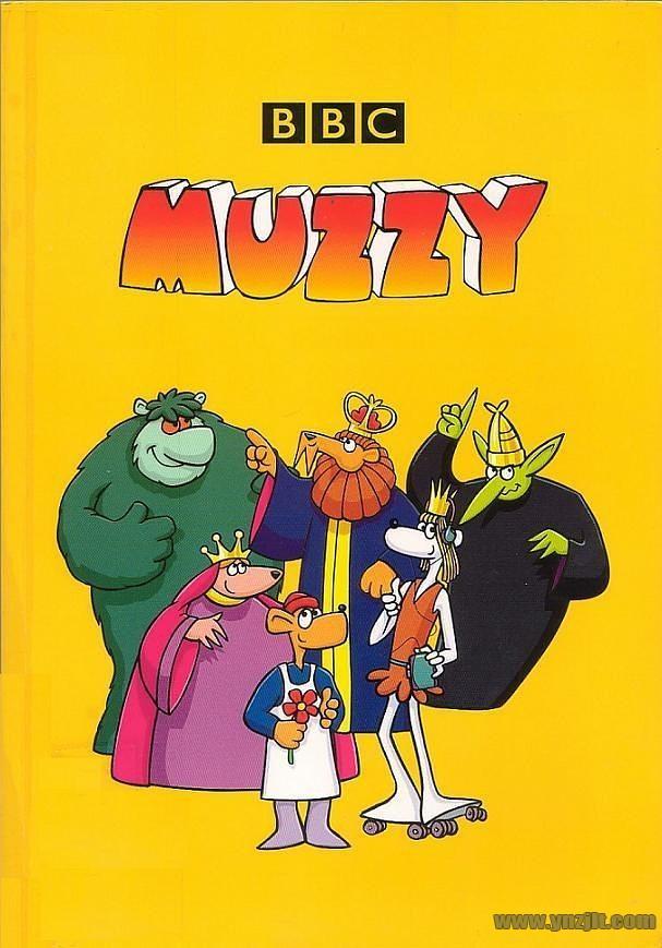 BBC经典英语启蒙动画Big Muzzy玛泽的故事,1080P高清视频带英文字幕,全套英文版和中文版+游戏+PDF教材+卡片,百度网盘下载