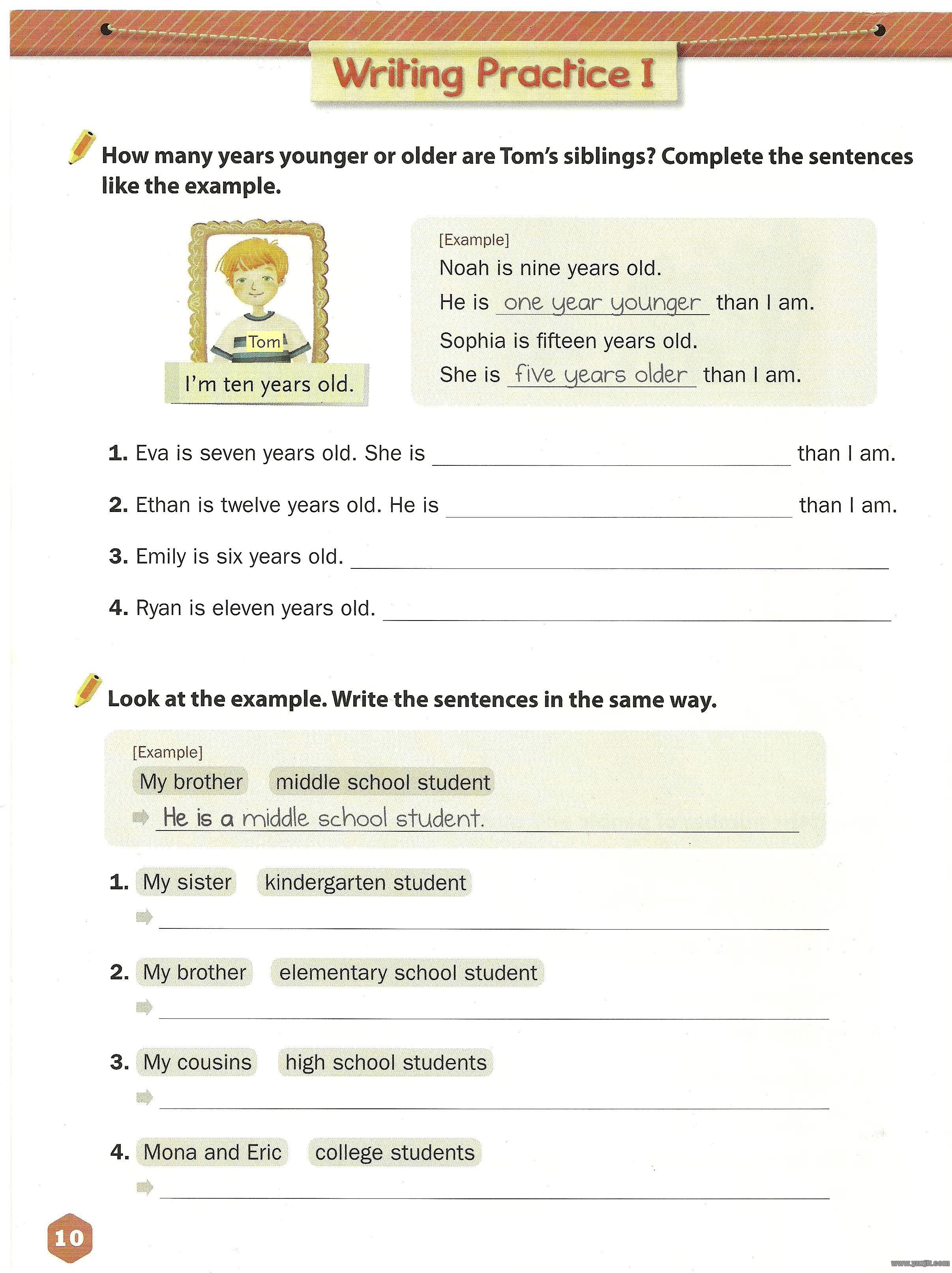 Write Right 10-12岁小升初原版英语写作培训教材NE Build & Grow PDF百度网盘下载